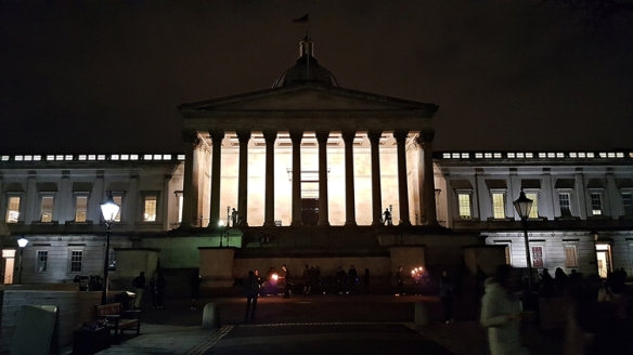UCL 1 University College London Portico