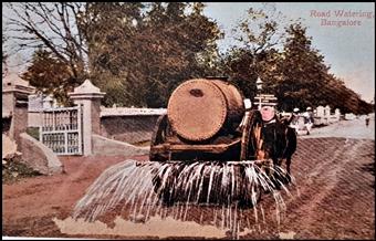 road watering