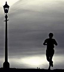 Evening jogger_240