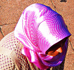Psychedelic headscarf_240