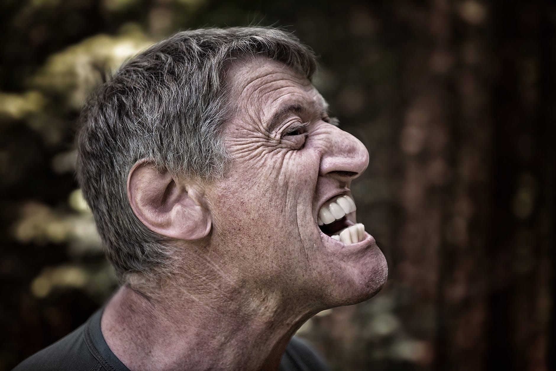 man person face portrait